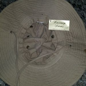 d5169eb5c Cotton Hat with Chin Cord & Side Snaps - Unisex NWT